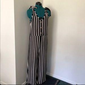 Ripe Black and White Striped Jumper